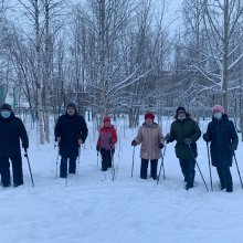 Скандинавская ходьба – полезно и весело!