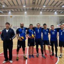 В Усинске прошли соревнования по волейболу, посвящённые 23 февраля