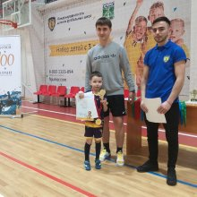 В Усинске состоялся турнир по мини-футболу, посвящённый 100-летию Республики Коми!