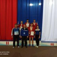 Самбисты из Усинска стали призёрами II этапа V летней Спартакиады молодёжи России 2021 года