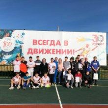 В прошедшие выходные в селе Колва состоялся товарищеский матч по футболу, посвященный 100-летию образования Республики Коми