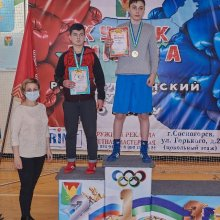 Усинские спортсмены - победители и призёры Первенства Республики Коми по боксу среди юношей и девочек 13-14 лет!